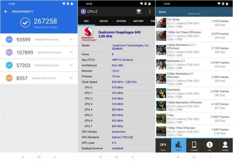 Xiaomi Pocophone F1 telefon teszt 14
