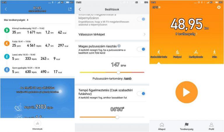 Xiaomi Mi Band 3 okoskarkötő teszt 16