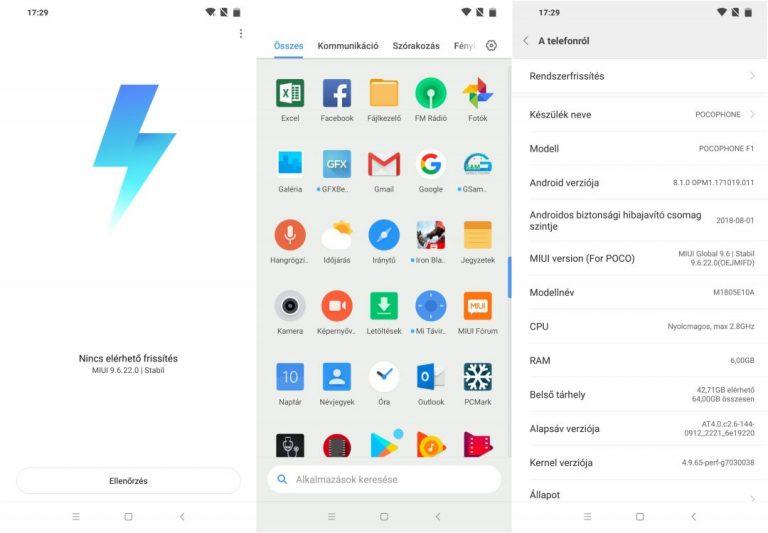 Xiaomi Pocophone F1 telefon teszt 15