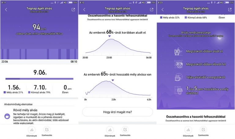 Xiaomi Mi Band 3 okoskarkötő teszt 18