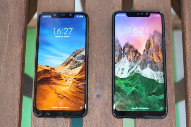 Xiaomi Pocophone F1 telefon teszt 11