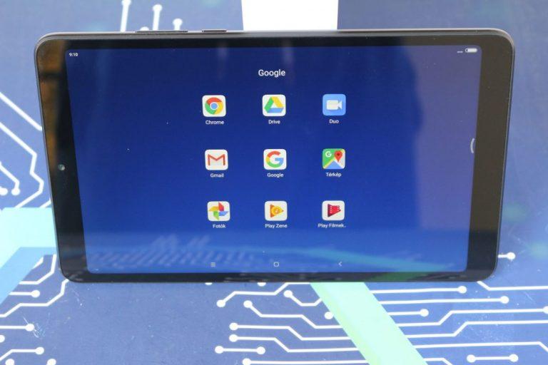 Xiaomi Mi Pad 4 tablet teszt 10