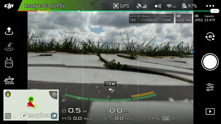 DJI Mavic Air drón teszt 12