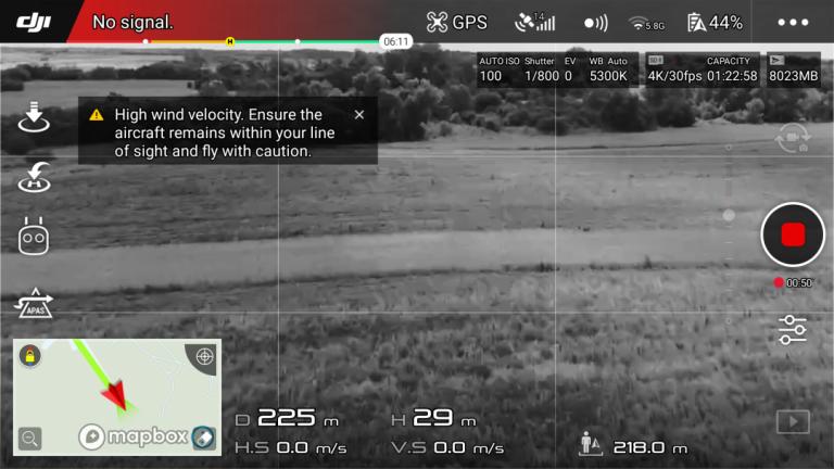 DJI Mavic Air drón teszt 13