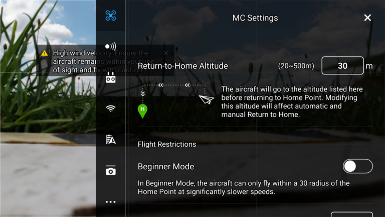 DJI Mavic Air drón teszt 14