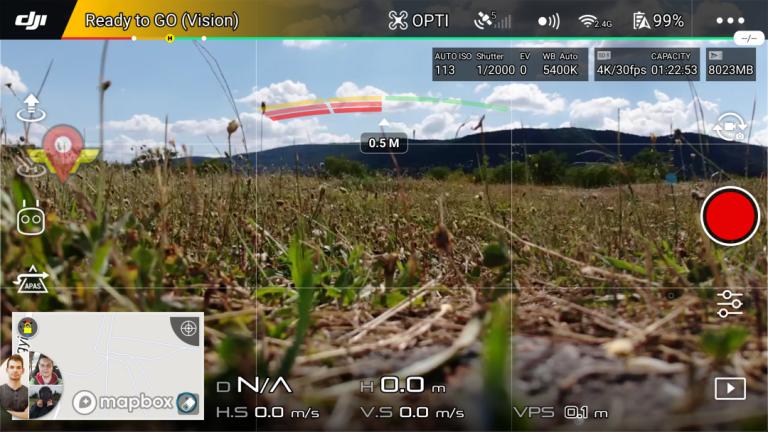 DJI Mavic Air drón teszt 10