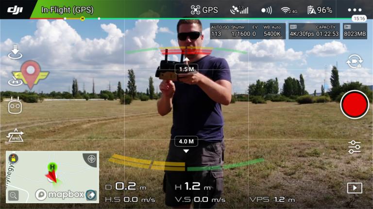 DJI Mavic Air drón teszt 11