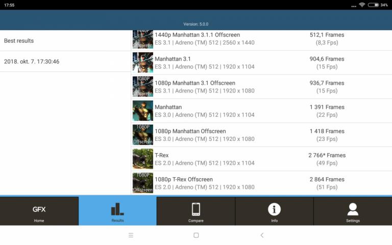 Xiaomi Mi Pad 4 tablet teszt 13