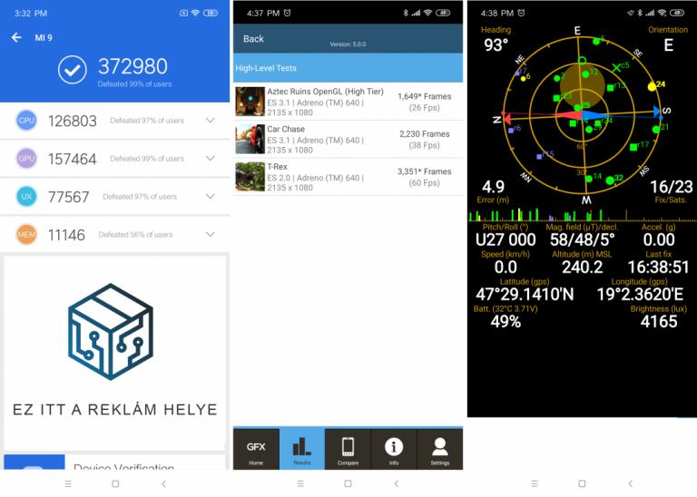 Xiaomi Mi 9 okostelefon teszt 24