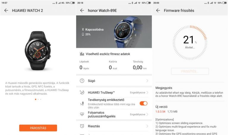 Huawei Honor Watch Magic okosóra teszt 17