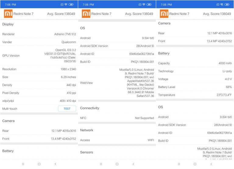 Redmi Note 7 okostelefon teszt 14