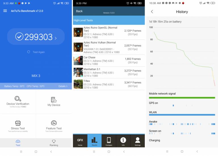 Xiaomi Mi Mix 3 okostelefon teszt 11