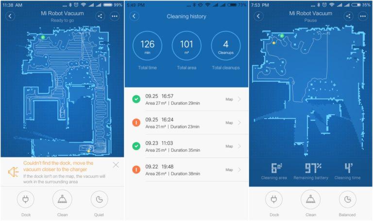 Xiaomi Mi Robot porszívó teszt 11