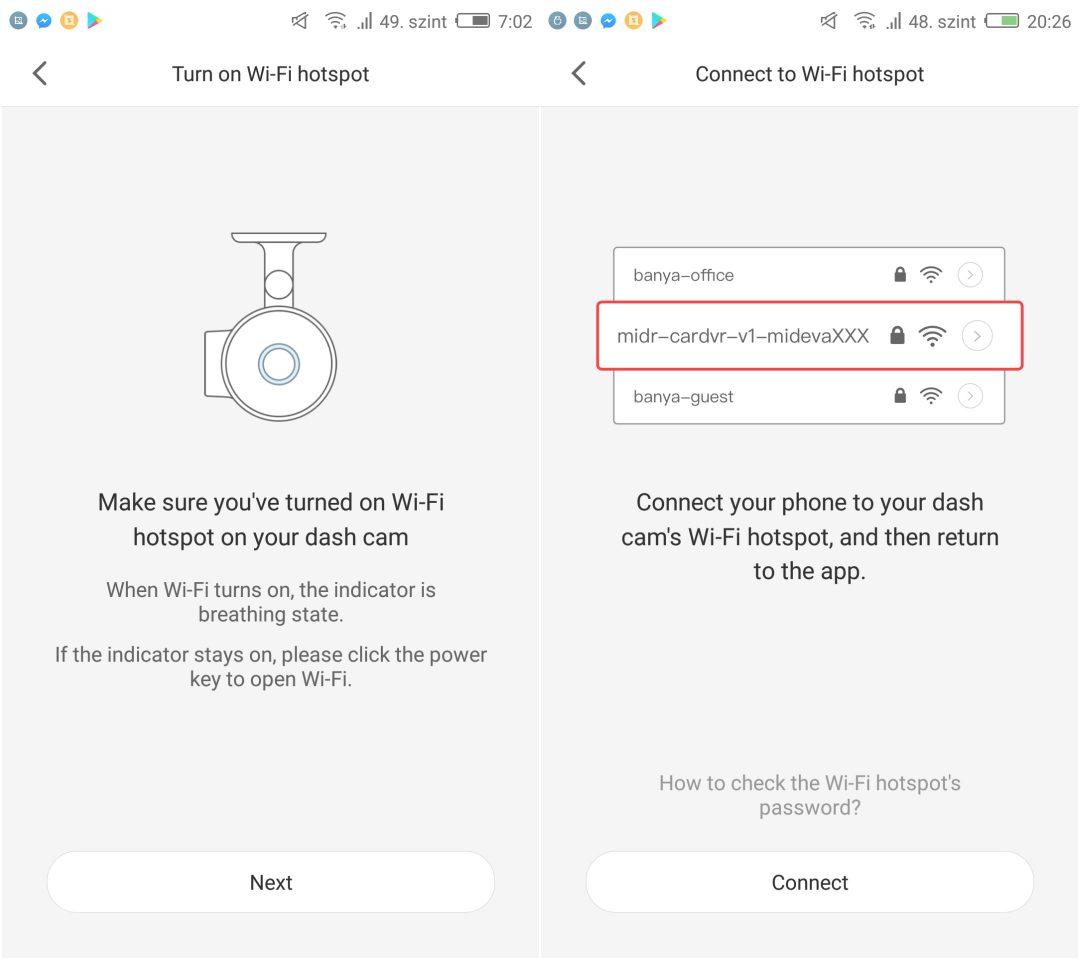 Xiaomi 70 minutes DVR kamera teszt 15