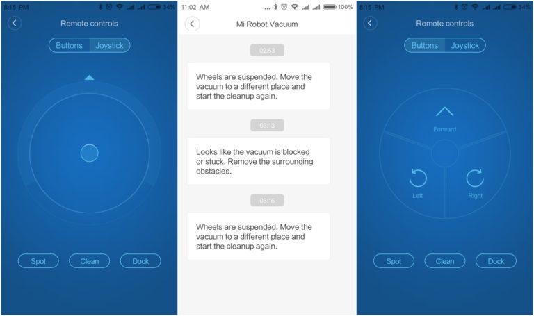 Xiaomi Mi Robot porszívó teszt 12