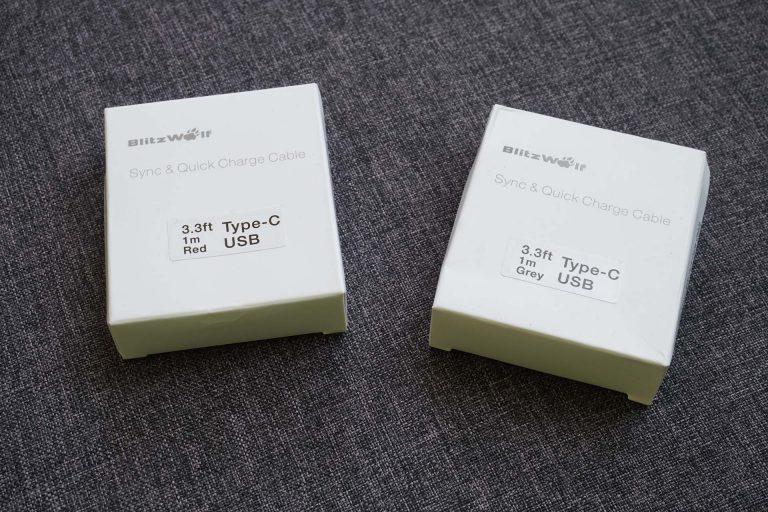 BlitzWolf BW-S9 gyorstöltő és BW-TC5 USB kábelek tesztje 15