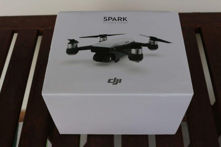 DJI Spark drón teszt 2