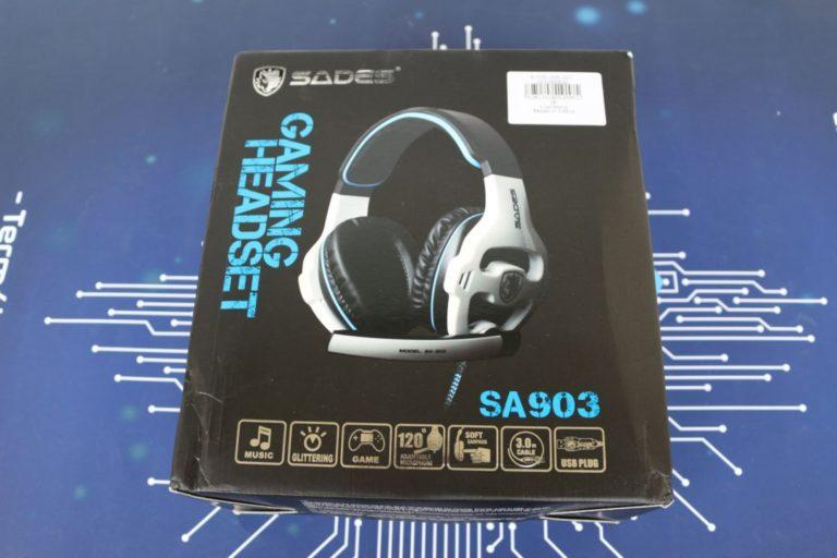 Sades SA-903 fejhallgató teszt 2