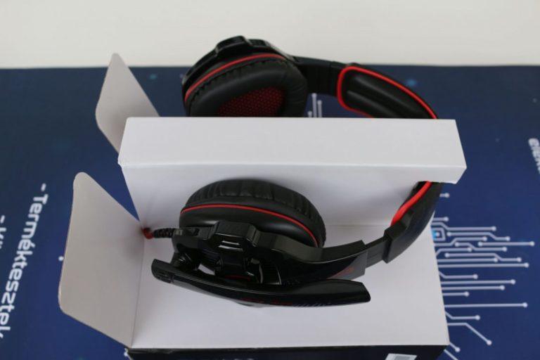 Sades SA-903 fejhallgató teszt 3