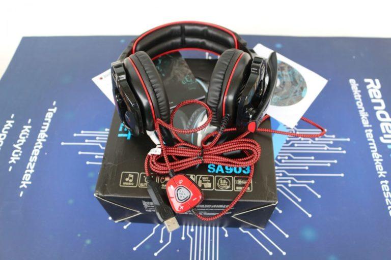 Sades SA-903 fejhallgató teszt 4