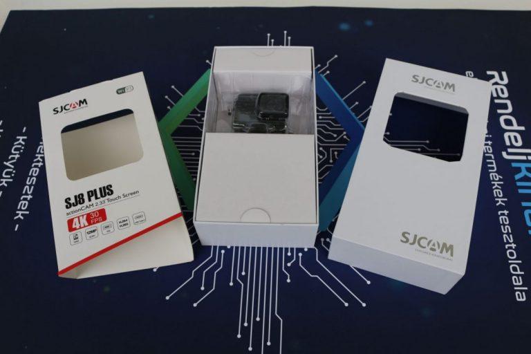 SJCAM SJ8 Plus akciókamera teszt 15