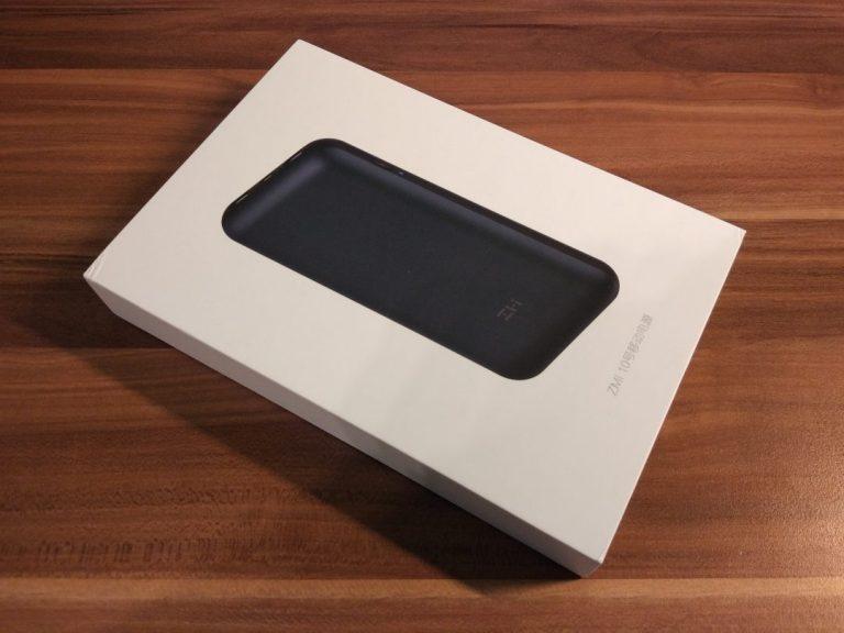 Xiaomi ZMI 10 QB820 20.000 mAh power bank teszt 2