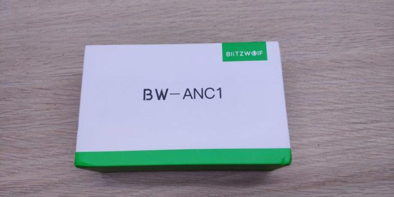 Blitzwolf BW-ANC1 fülhallgató teszt 2