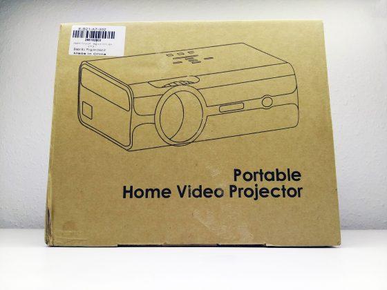 Alfawise A12 projektor teszt 2