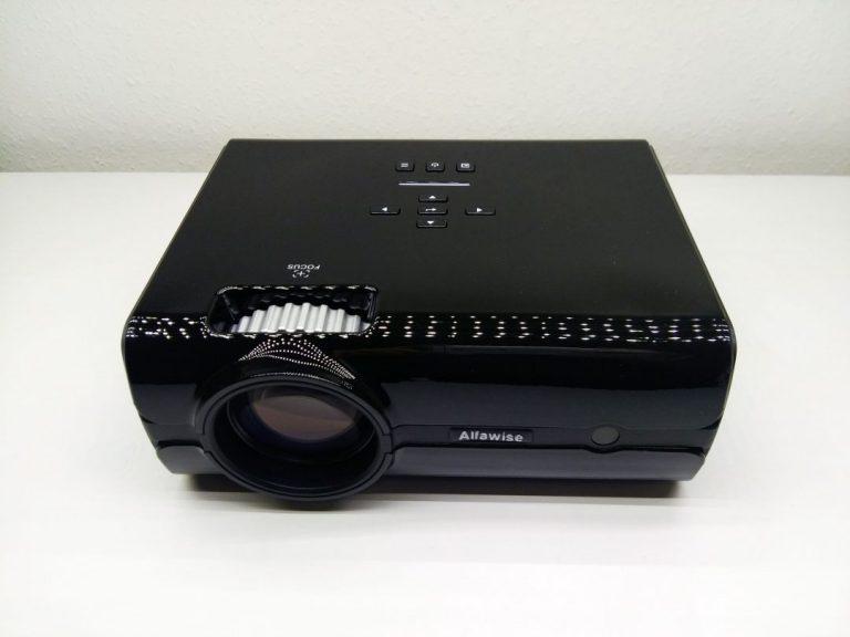 Alfawise A12 projektor teszt 10