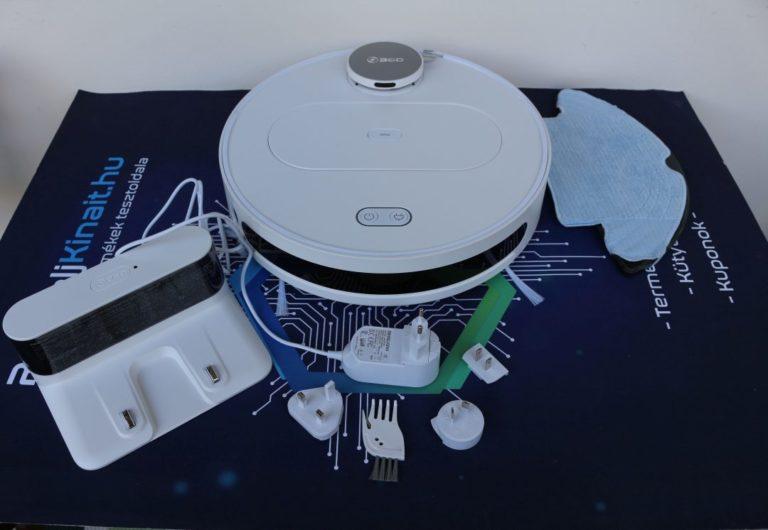 360 S6 robotporszívó teszt 4