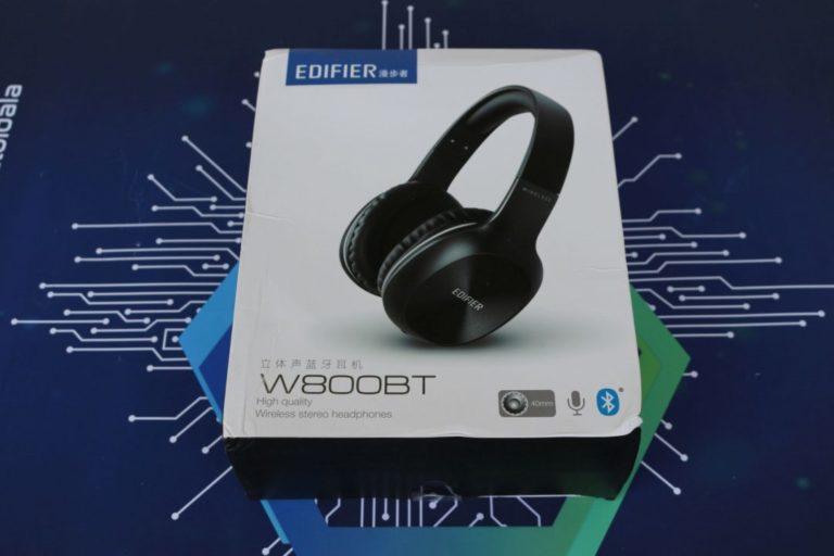 Edifier W800 BT fejhallgató teszt 2