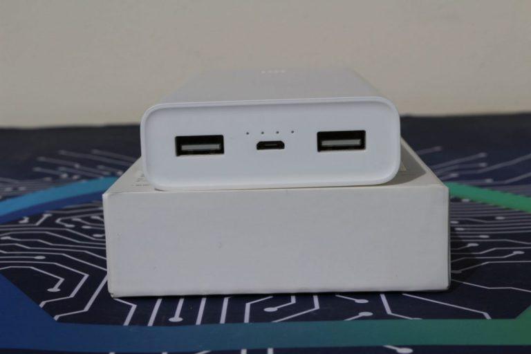 Xiaomi 2C power bank teszt 5