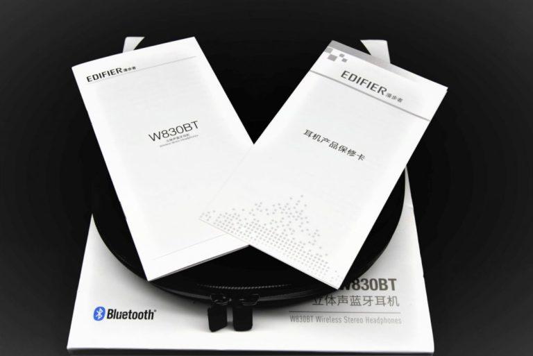 Edifier W830BT fejhallgató teszt 4