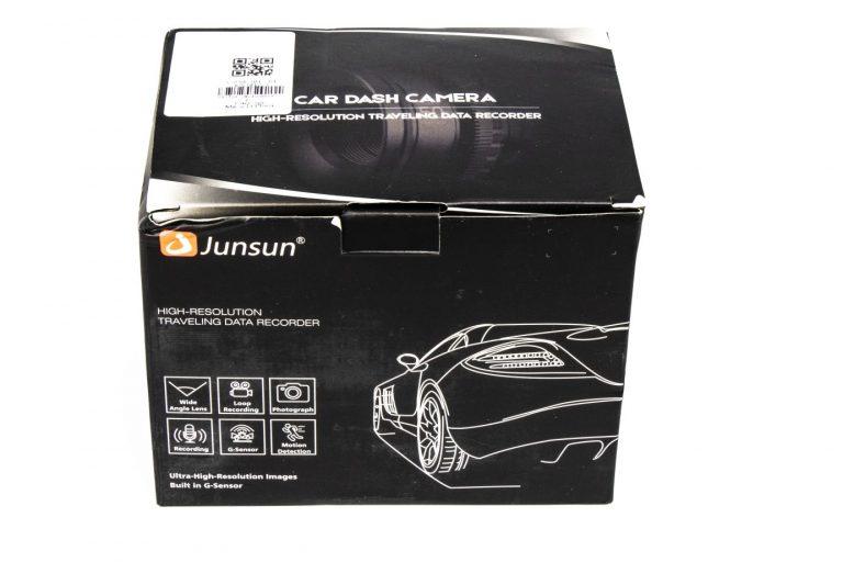 Junsun S590 autós kamera teszt 2