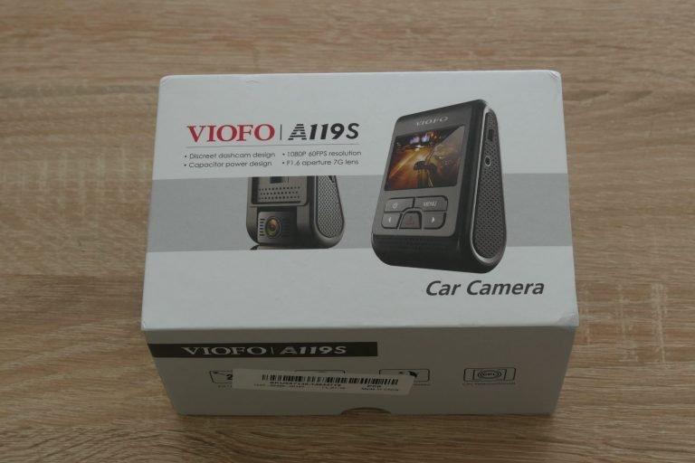 Viofo A119S V2 autós kamera teszt 2