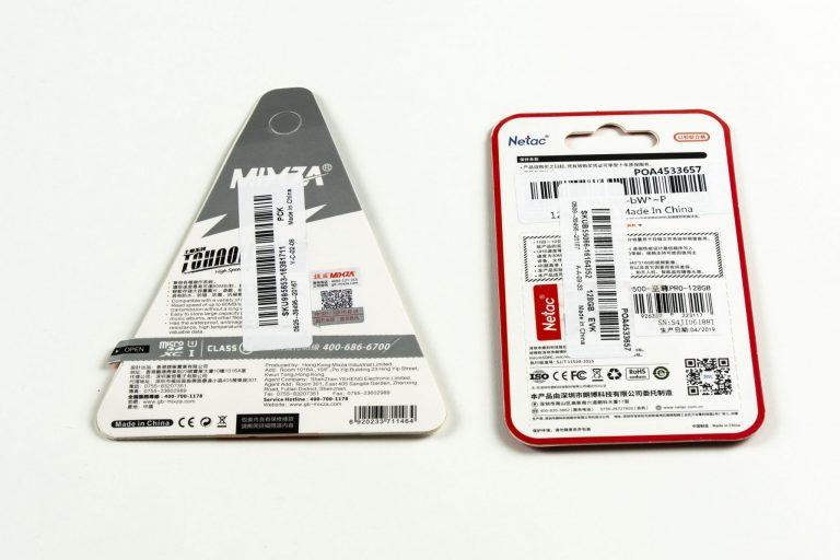 Netac és Mixza 128 GB-os micro SD kártyák tesztje 3