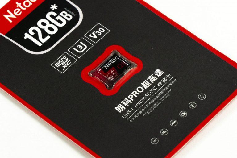 Netac és Mixza 128 GB-os micro SD kártyák tesztje 4