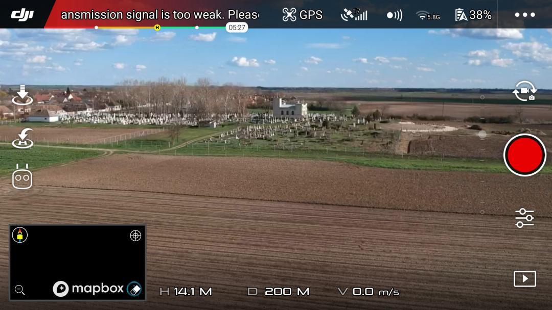 DJI Spark drón teszt 15