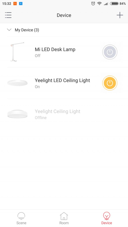 Xiaomi Yeelight mennyezeti lámpák tesztje 10