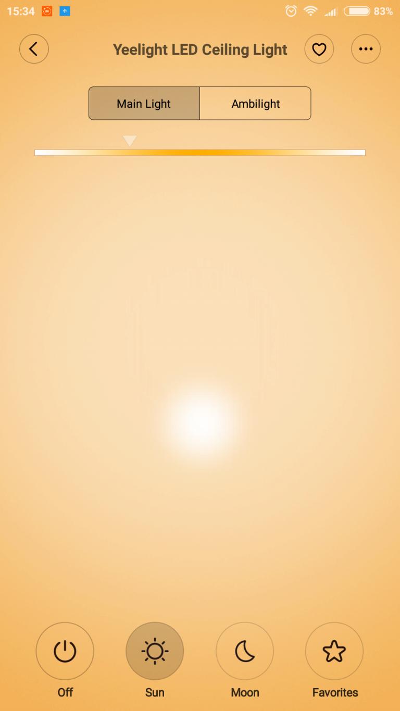 Xiaomi Yeelight mennyezeti lámpák tesztje 15