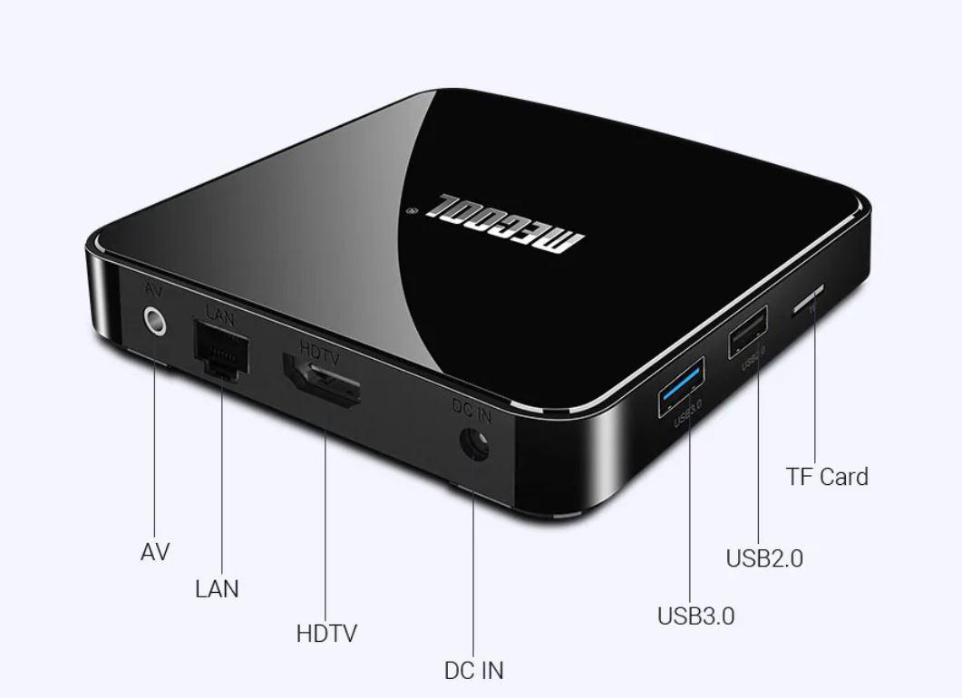 Mecool KM3 TV box teszt 2