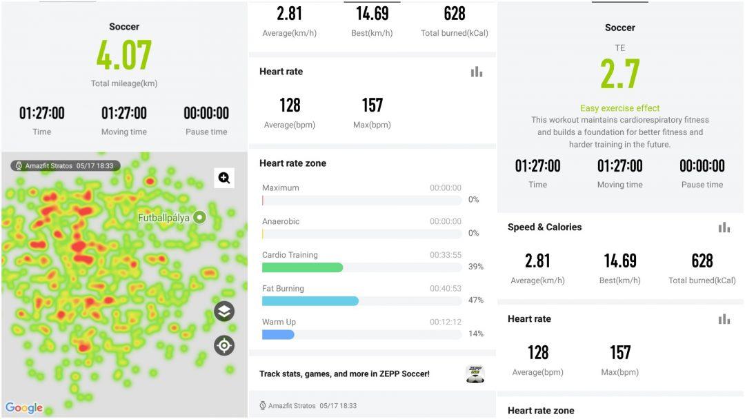 Xiaomi Amazfit Pace 2/Stratos teszt 12