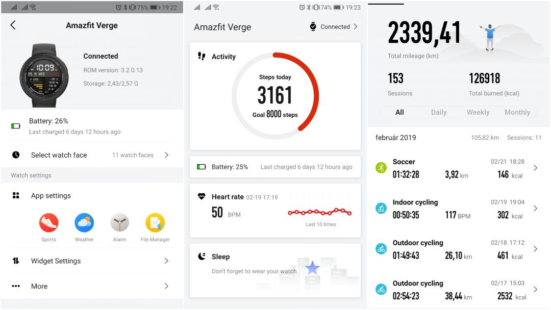 Xiaomi Amazfit Verge okosóra teszt 8
