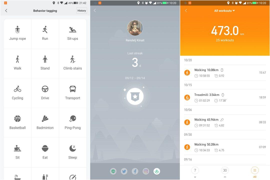 Xiaomi Amazfit Cor okoskarkötő teszt 10