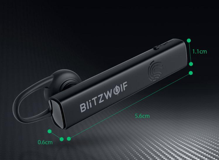 Blitzwolf BW-BH1 Bluetooth-os headset teszt 2