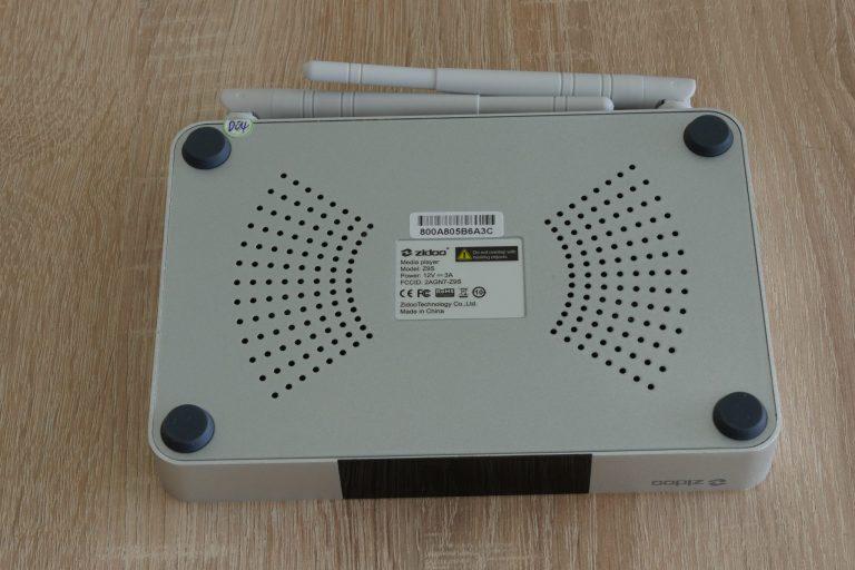 Zidoo Z9S TV Box teszt 7