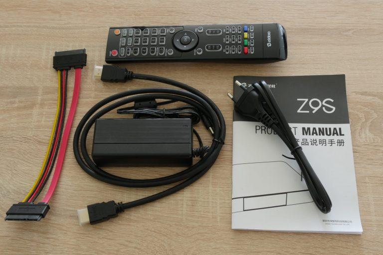 Zidoo Z9S TV Box teszt 3