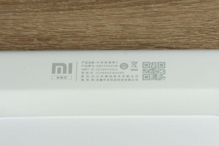 Xiaomi Smart Scale 2.0 okosmérleg teszt 5