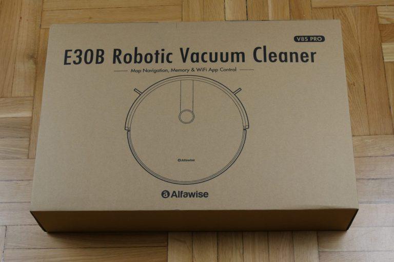 Alfawise V8S Pro robotporszívó teszt 2