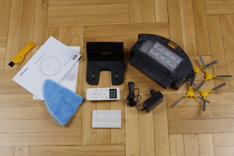 Alfawise V8S Pro robotporszívó teszt 3
